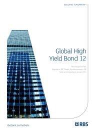 Global High Yield Bond 12 - RBS - Sweden