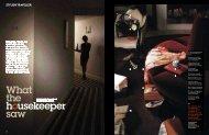 What the housekeeper saw - Bodo Sperlein