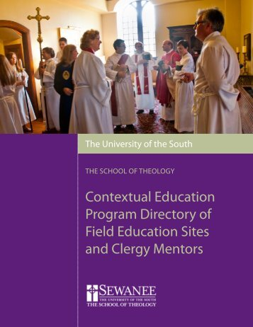 small rural churches to large urban parishes. - The School of Theology