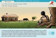 La vida en el campo hacia 1830 - Manosanta