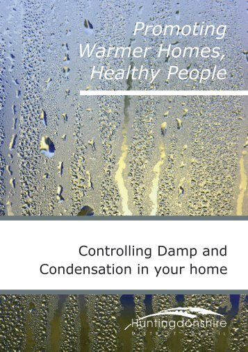 Controlling Damp & Condensation in your home - Huntingdonshire ...
