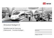 Notfallkonzept Sperrung Fildertunnel - Bahnprojekt-Stuttgart-Ulm