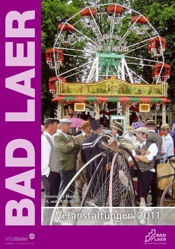 Veranstaltungen 2011 - Gemeinde Bad Laer