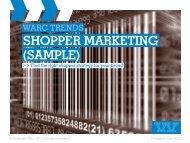 SHOPPER MARKETING (SAMPLE) - Warc