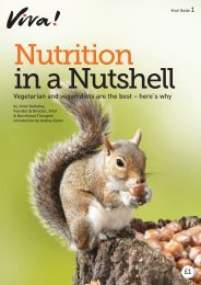 Nutrition in a Nutshell Guide - Vegetarian & Vegan Foundation
