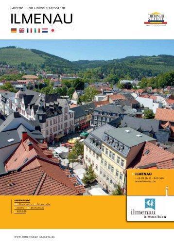 ILMENAU ILMENAU - Thüringer Städte