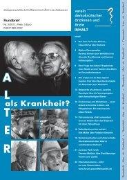 Rundbrief VDÄÄ_11_3 - Unionhilfswerk Palliative Geriatrie