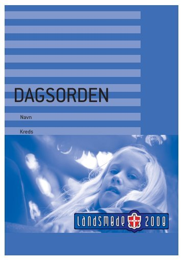 LM-dagsorden - Leder - FDF