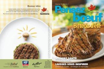 Biftecks d'été - HP Sauce