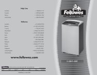 C-220/C-220C - Fellowes Shredder