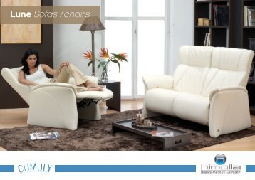 Lune Sofas / chairs