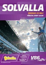 ONSDAG 23 MAJ - Solvalla