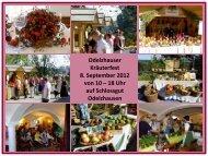 Flyer zum Kräuterfest 2012 - Gundermannschule