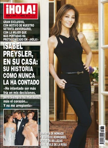 revista Hola- 9 de Abril 2014