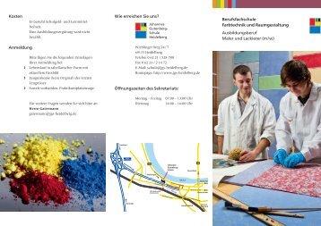 Einjährige Berufsfachschule Farbe - Johannes-Gutenberg-Schule ...
