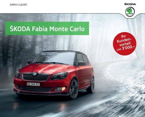 Škoda Fabia Monte Carlo - J.H. Keller AG