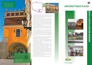 tarnó w region tourist guide unforgettable places - Tarnowskie ...