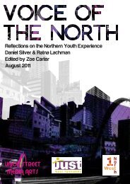 Reflections on the Northern Youth Experience - JUST West Yorkshire