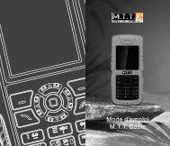 Mode d'emploi M.T.T. Bazic - Mobile Tout Terrain