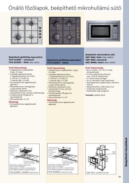 Bosch beépíthető készülékek. - Kapos Design Bt.