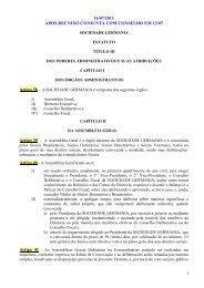 Título 3 - Dos poderes administrativos - Sociedade Germania