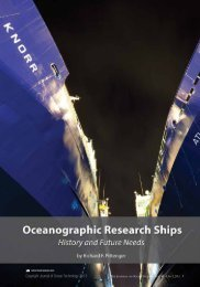 Oceanographic Resarch Ships - History and Future Needs - UNOLS!