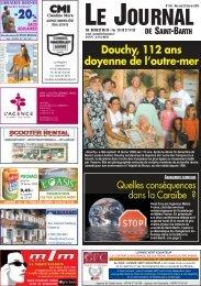 numéro 768 - Journal de Saint Barth