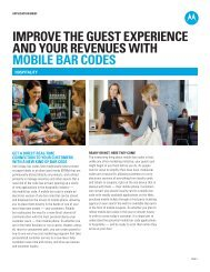 Improve the guest experience and your revenues with mobile bar ...