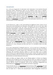 Lebensphilosophie - Universität Koblenz · Landau