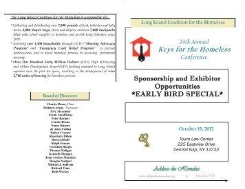 Sponsorship brochure 2012 EARLY BIRD SPECIAL ... - Karma411