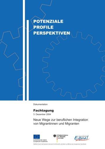 POTENZIALE PROFILE PERSPEKTIVEN - Bertelsmann Stiftung