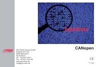 CANopen HR & HRD - Psg-online.de