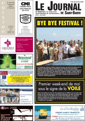 825 - Journal de Saint Barth