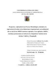 Propuesta y Aplicación de un Proceso Metodológico orientado a la ...