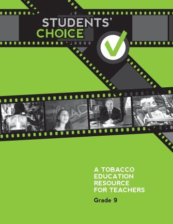 stUdents' cHoIce - Government of Newfoundland and Labrador