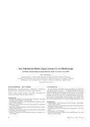 Zur Zukunft der Buche (Fagus sylvatica L.) in ... - Wald & Klima