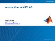 What is MATLAB? - IMST