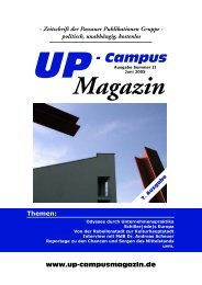 72 %CORWU - UP-Campus Magazin