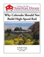 Why Colorado Should Not Build High-Speed Rail - Transportation ...