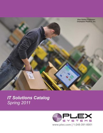 IT Catalog Spring 2011 Draft - Plex Systems