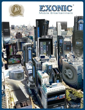 to Download the 2009 EXONIC MOBILE Catalog Now - Ample Audio
