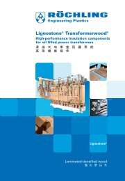 Lignostone® Transformerwood® - Röchling Engineering Plastics