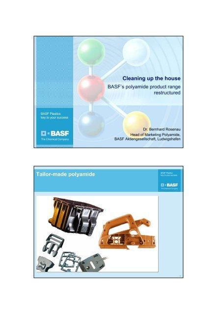 Download presentation charts (PDF) - BASF Plastics Portal