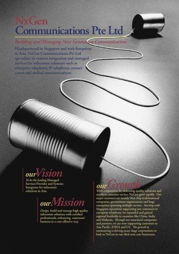 Profile - NxGen Communications Pte Ltd