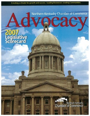 Legislative Scorecard - US Chamber of Commerce