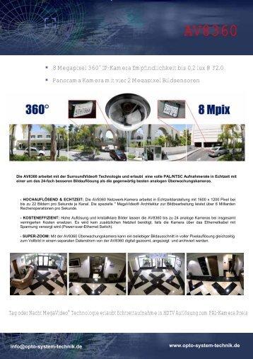 AV8360 - Opto-System-Technik