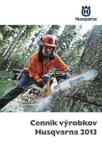Cenník výrobkov Husqvarna 2013 - MITTEL sro