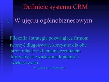 CRM w bankowosci