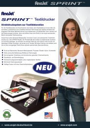 Textildrucker - Farben-Frikell