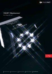 VISOR® Objektsensor - SensoPart Industriesensorik GmbH
